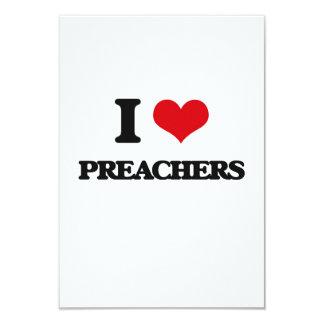 Amo a predicadores invitación 8,9 x 12,7 cm