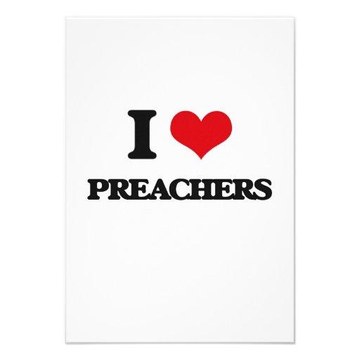 Amo a predicadores comunicados personales
