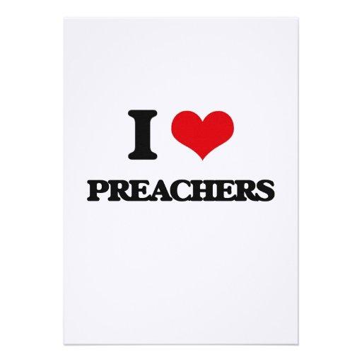 Amo a predicadores invitación personalizada