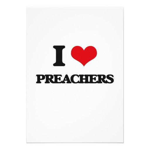 Amo a predicadores anuncio
