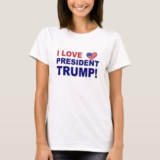 Amo a presidente Trump Camiseta