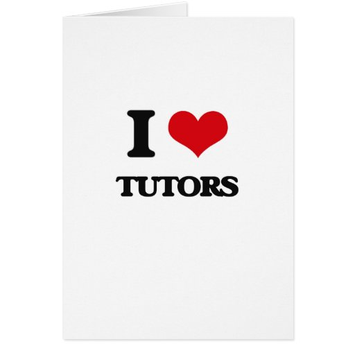 Amo a profesores particulares felicitación