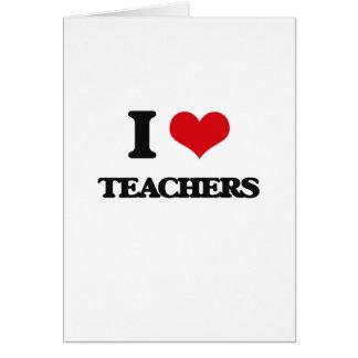 Amo a profesores felicitaciones