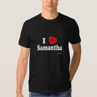 Amo a Samantha Camisetas