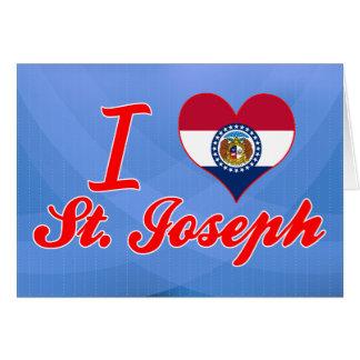 Amo a San José, Missouri Tarjeta