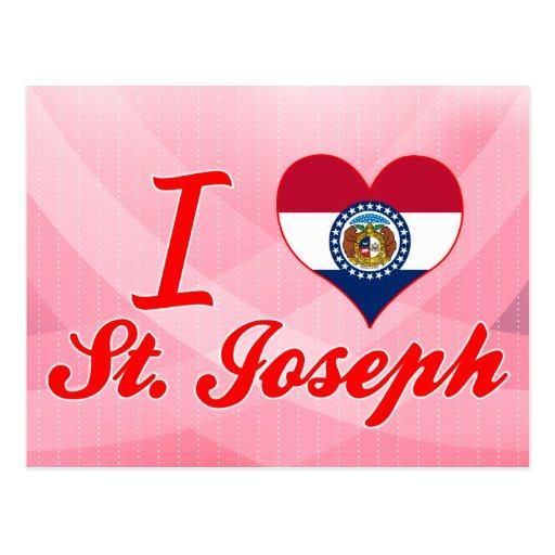 Amo a San José, Missouri Tarjetas Postales