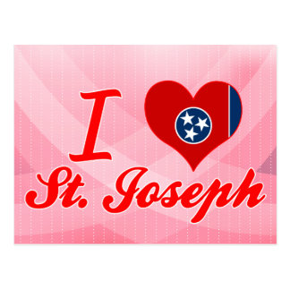 Amo a San José, Tennessee Tarjetas Postales