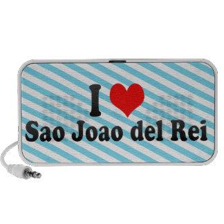 Amo a Sao Joao del Rei, el Brasil Laptop Altavoz