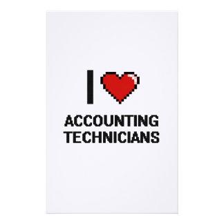 Amo a técnicos que consideran papelería personalizada