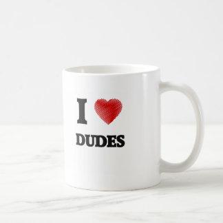 Amo a tipos taza clásica