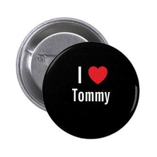 Amo a Tommy Chapa Redonda De 5 Cm