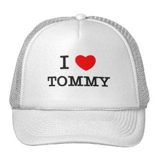Amo a Tommy Gorros Bordados