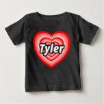 Amo a Tyler Camiseta