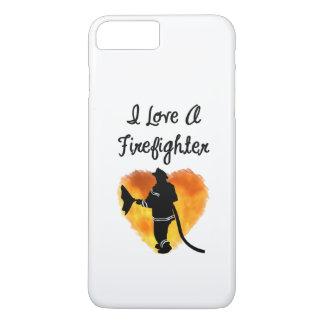 Amo a un bombero funda iPhone 7 plus