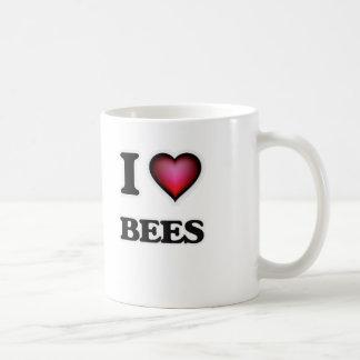 Amo abejas taza de café