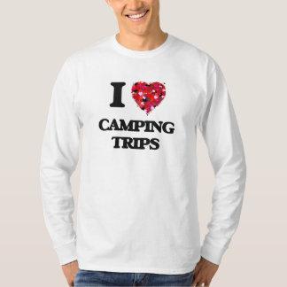 Amo acampadas camisetas
