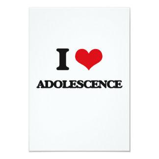 Amo adolescencia invitación 8,9 x 12,7 cm