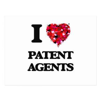 Amo agentes de patente postal