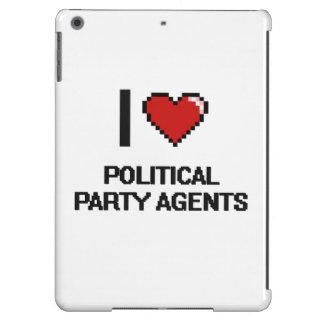 Amo agentes del fiesta político funda para iPad air