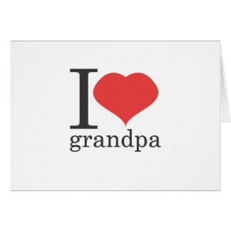 amo al abuelo tarjetas