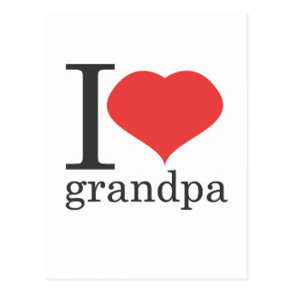amo al abuelo postal