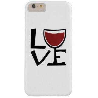 Amo al bebedor del vino rojo funda barely there iPhone 6 plus
