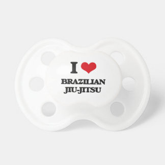 Amo al brasilen@o Jiu-Jitsu Chupetes Para Bebes