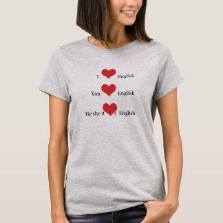 Amo al estudiante del profesor del ESL de la Camiseta