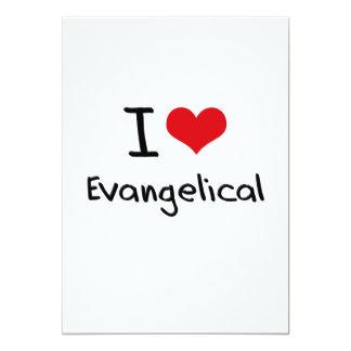 Amo al Evangelical Invitación 12,7 X 17,8 Cm