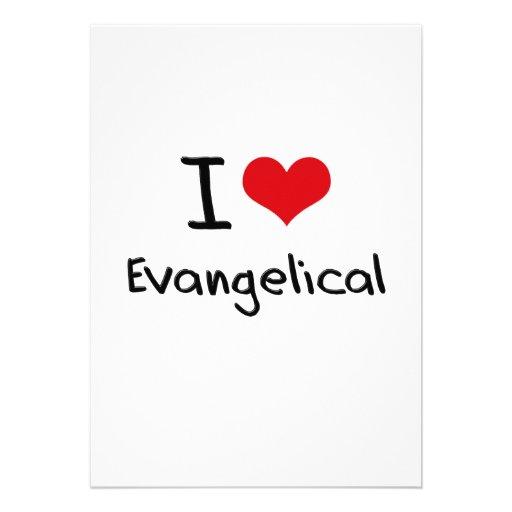 Amo al Evangelical Invitaciones Personales
