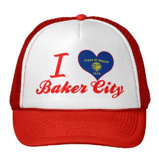 Amo al panadero+Ciudad, Oregon Gorra