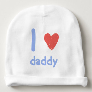 Amo al papá gorrito para bebe