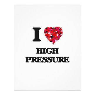 Amo alta presión folleto 21,6 x 28 cm