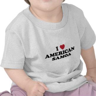 Amo American Samoa Camiseta
