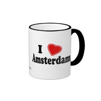 Amo Amsterdam Taza
