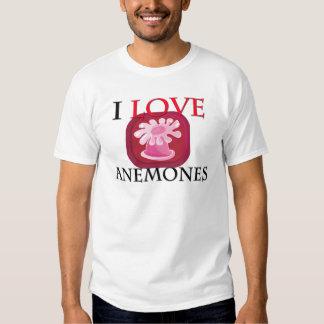 Amo anémonas camiseta