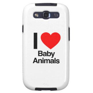 amo animales del bebé samsung galaxy SIII funda