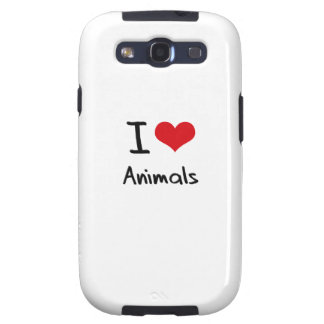 Amo animales galaxy s3 protector