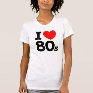Amo años 80 camiseta