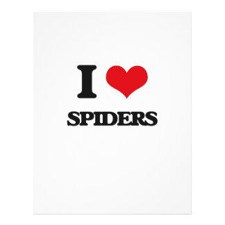 Amo arañas tarjeton