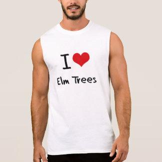 Amo árboles de olmo camisetas sin mangas
