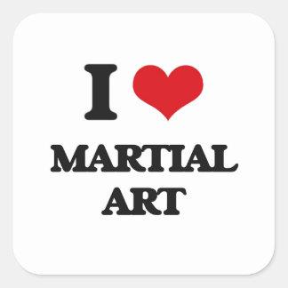 Amo arte marcial colcomania cuadrada