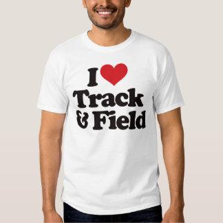 Amo atletismo camisetas