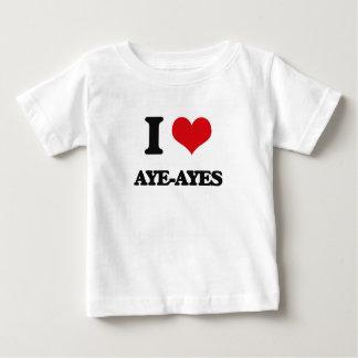 Amo aye-Ayes Camisetas