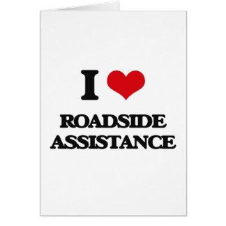 Amo ayuda del borde de la carretera
