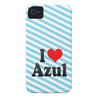 Amo Azul iPhone 4 Cárcasas