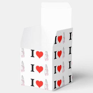 Amo ballet del corazón caja de regalos