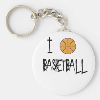 Amo baloncesto llavero