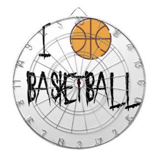 Amo baloncesto tablero de dardos