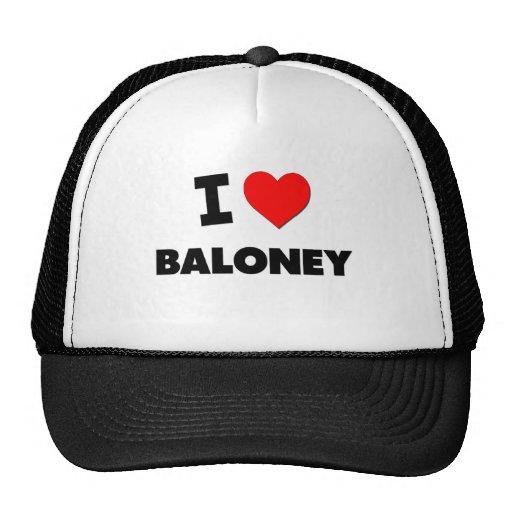 Amo Baloney Gorros Bordados